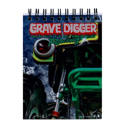 Grave Digger Notebook