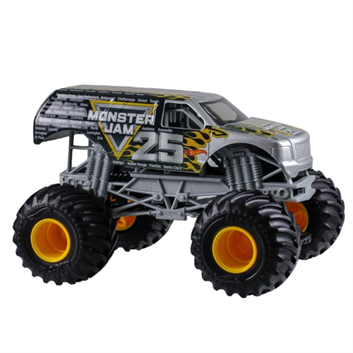 1:24 Hot Wheels Monster Jam 25th Anniversary Truck