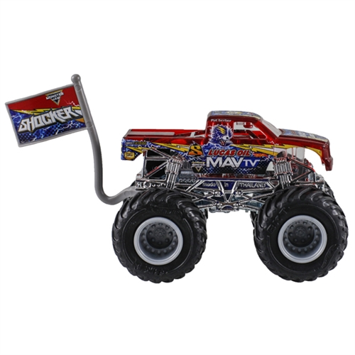 1:64 Hot Wheels Shocker Truck - Flag Series - 2/4 X-Ray Body