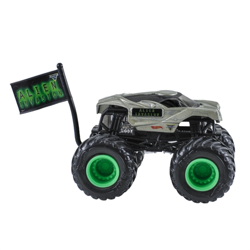 1:64 Hot Wheels Alien Invasion Truck - Flag Series - 6/10 Epic Additions