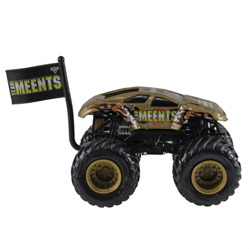 1:64 Hot Wheels Team Meents Truck - Flag Series - 2/6 Team Meents