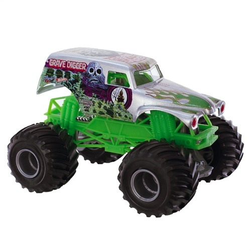 1:24 Hot Wheels Grave Digger Chrome Truck