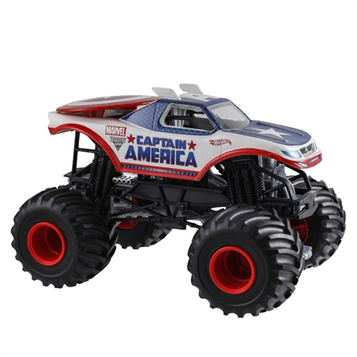 1:24 Hot Wheels Captain America Truck