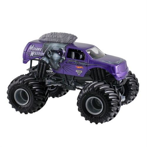 1:24 Hot Wheels Mohawk Warrior Purple Truck