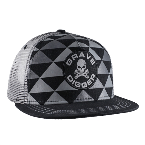Grave Digger Triangle Patch Cap