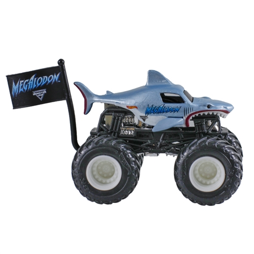 1:64 Hot Wheels Megalodon Truck - Flag Series - 8/10 Creatures