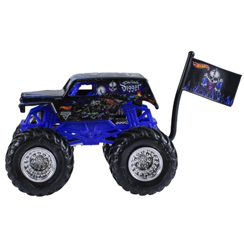 1:64 Hot Wheels Son-Uva Digger Truck - Flag Series - 9/10 Tour Favorites