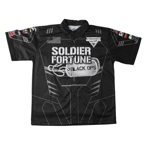 Black Ops Youth Driver Shirt - Youth Medium
