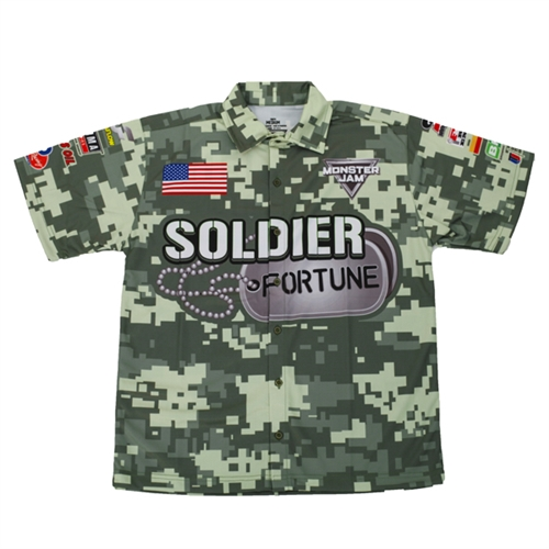 Soldier Fortune Youth Driver Shirt - Youth Medium