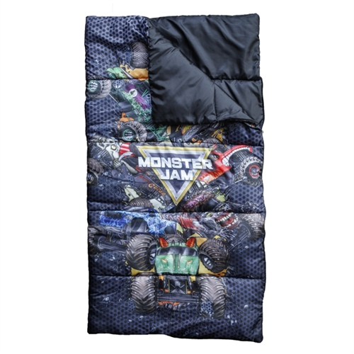 Monster Jam Youth Sleeping Bag