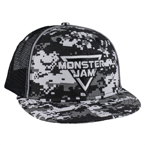 Monster Jam Digi Camo Cap