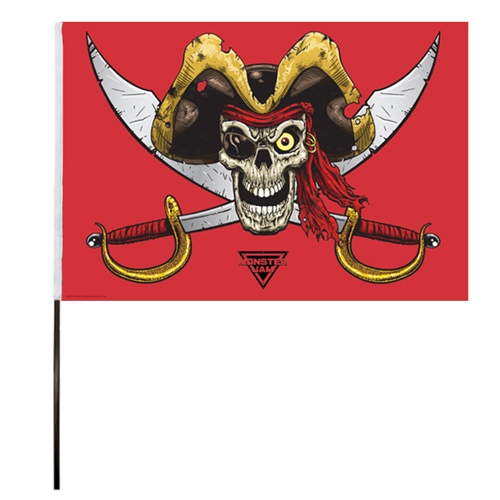 Pirate's Curse Flag (14x22 in)