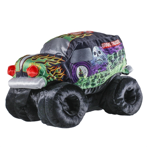 Grave Digger Soft Plush Truck