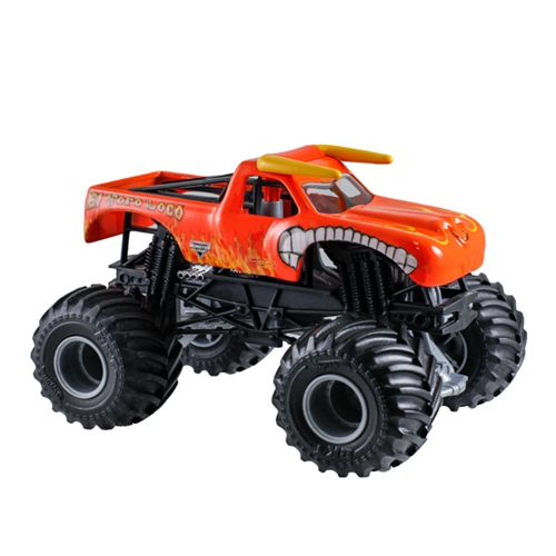 1:24 Hot Wheels El Toro Loco Orange Truck
