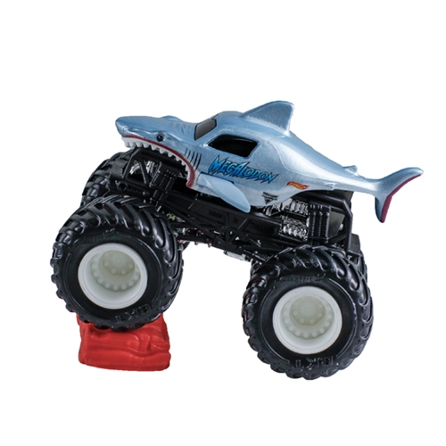 1:64 Hot Wheels Wonder Megalodon- Re-Crushable Car 11/15 Epic Additions