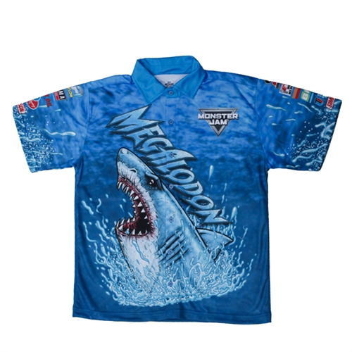 Megalodon Youth Driver Shirt - Youth Medium
