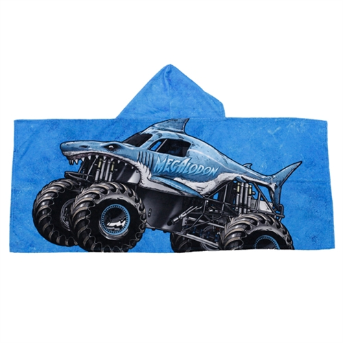 Megalodon Kids Hooded Towel