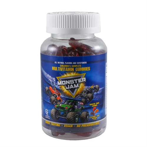 Monster Jam Multi-Vitamin Gummies - 70 Count