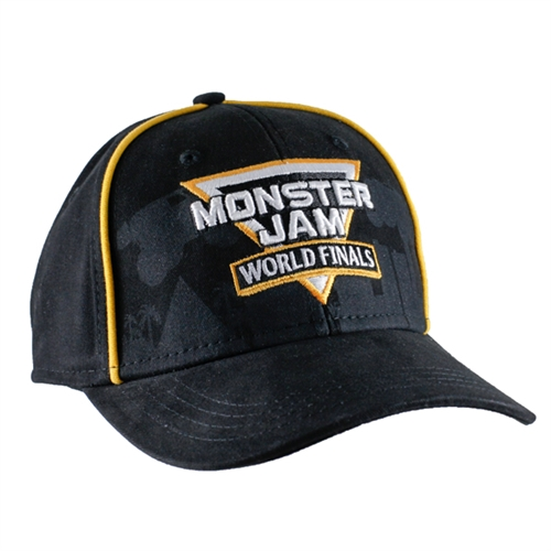 Monster Jam World Finals Piping Cap