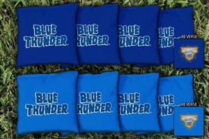 Monster Jam Blue Thunder Replacement Cornhole Bag Set (Corn-Filled)