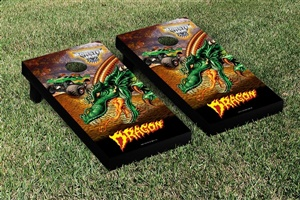 Monster Jam Dragon Cornhole Game Set Creature Version