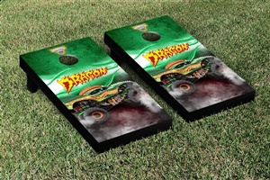 Monster Jam Dragon Cornhole Game Set Smoke Version