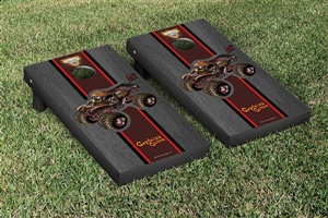 Monster Jam Captains Curse Cornhole Game Set Onyx Stained Version