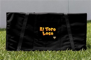 Monster Jam El Toro Loco Black Cornhole Carrying Case
