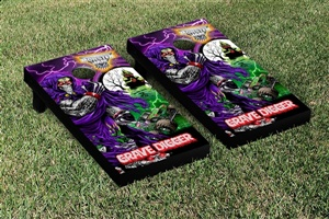 Monster Jam Grave Digger Cornhole Game Set Creature Version