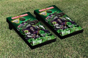 Monster Jam Grave Digger Cornhole Game Set Creature Version 2