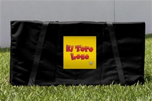 Monster Jam El Toro Loco Yellow Cornhole Carrying Case