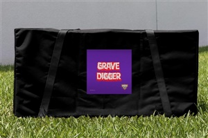 Monster Jam Grave Digger Cornhole Carrying Case