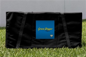 Monster Jam Grave Digger The Legend Cornhole Carrying Case