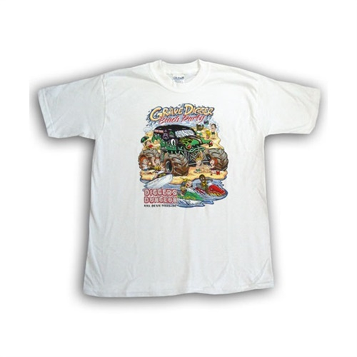 Grave Digger Beach Party Tee