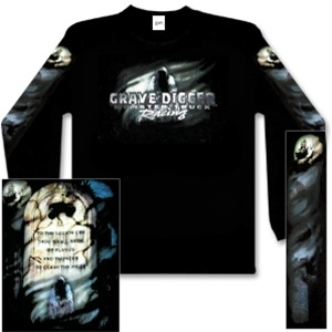 Grave Digger Tombstone Tee