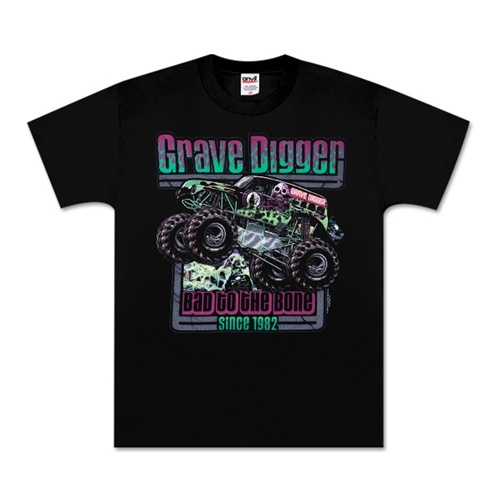 Grave Digger Retro Youth Tee