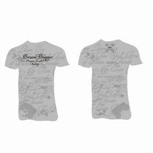 Grave Digger Ladies Quote Tee