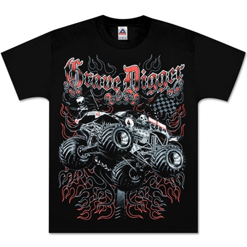 Grave Digger Challenger Tee