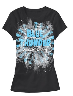 Blue Thunder Crazy Nights Ladies Tee