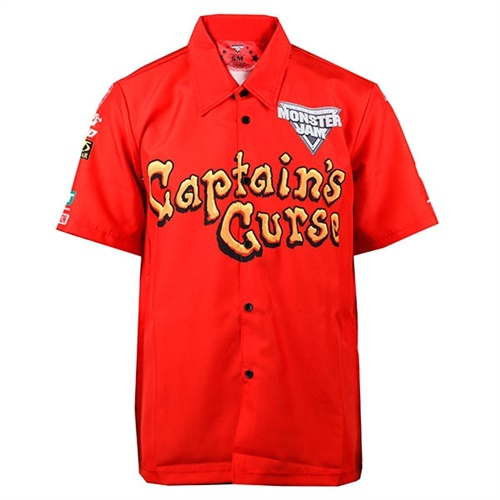 CAPTAIN'S CURSE Driver Shirt