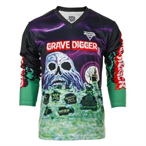 Grave Digger Youth Jersey