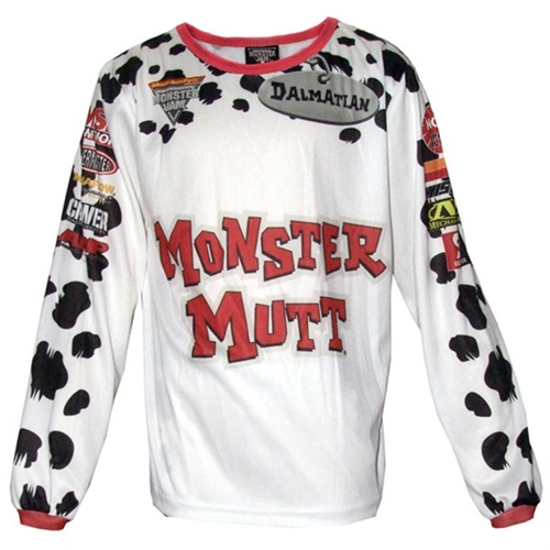 Monster Jam Monster Mutt Dalmatian Playwear Set