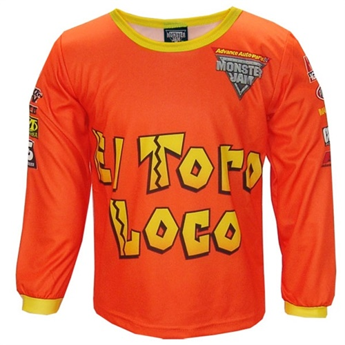 Monster Jam EL Toro Loco Playwear Set