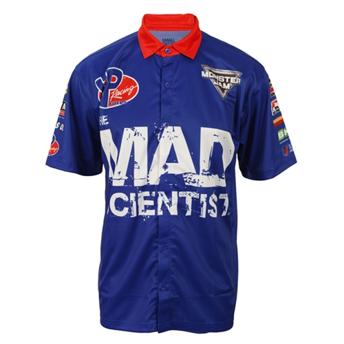 Mad Scientist Driver Shirt