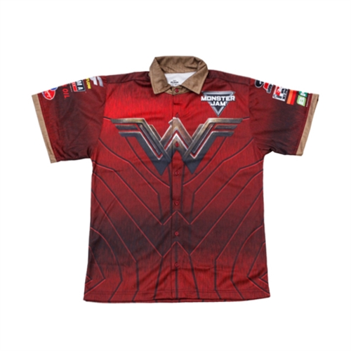 Wonder Woman Girls Youth Driver Shirt