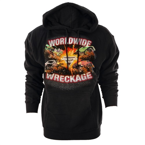 Monster Jam Series 2016 Black Youth Hoodie
