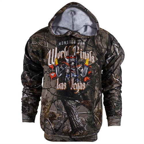 World Finals XVI Engine Camo Sweater Hoodie