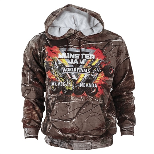 World Finals XVII Backdrop Camo Hoodie