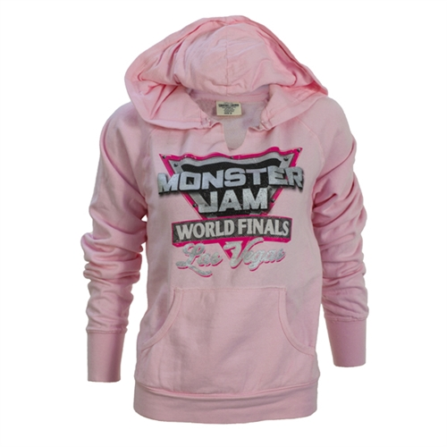 World Finals XVIII Glitter Logo Ladies Hoodie