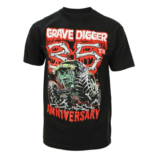 Grave Digger 35th Anniversary Tee